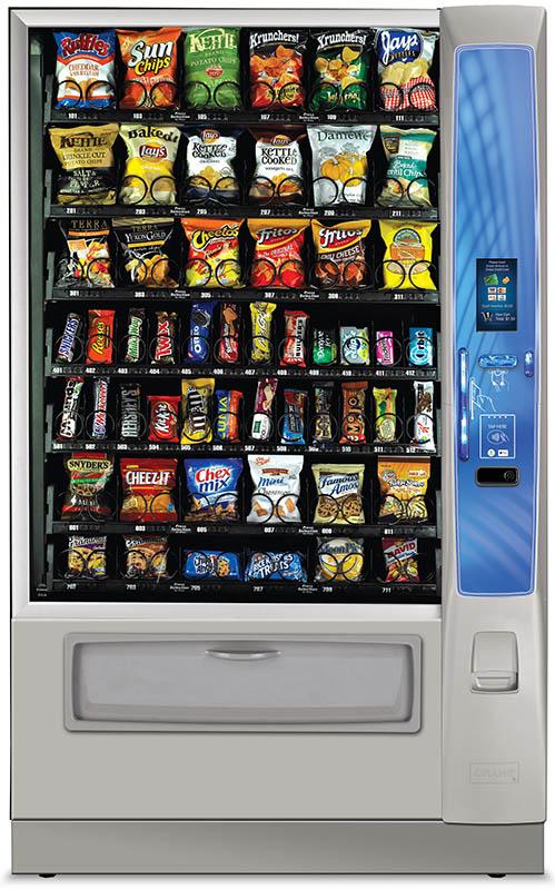 Crane Merchant Media Vending machine