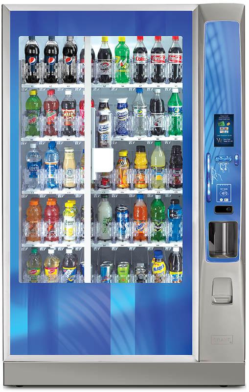 Crane Media Bevmax vending